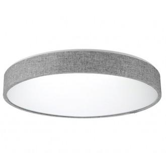 AZZARDO 2717   Collodi Azzardo stropne svjetiljke svjetiljka daljinski upravljač jačina svjetlosti se može podešavati, sa podešavanjem temperature boje 1x LED 3400lm 3000 <-> 6500K sivo, bijelo