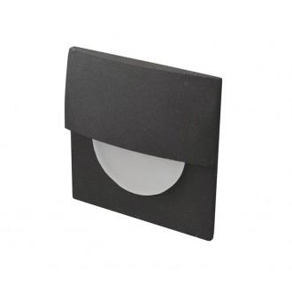 AZZARDO 2768 | Sane Azzardo ugradbena svjetiljka 1x LED 170lm 3000K crno