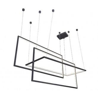 AZZARDO 2914 | Metric Azzardo visilice svjetiljka jačina svjetlosti se može podešavati 1x LED 6880lm 3000K crno