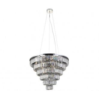 AZZARDO 2927   Salerno-AZ Azzardo stropne svjetiljke, visilice svjetiljka 12x G9 krom, kristal