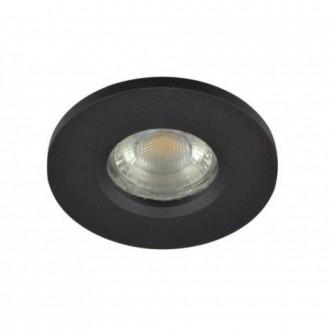 AZZARDO 3017 | Ika-AZ Azzardo ugradbena svjetiljka 1x GU10 IP65 crno