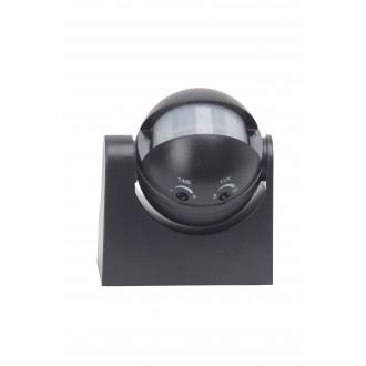 BRILLIANT 96193/06 | Brilliant sa senzorom svjetiljka IP44 crno