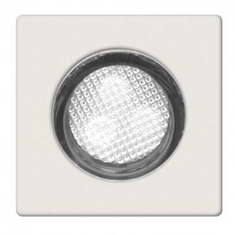 BRILLIANT G02893/82 | Asta30 Brilliant ugradbena svjetiljka set od 10 komada Ø30mm 30x30mm 10x LED 10lm 7500K IP44 plemeniti čelik, čelik sivo, bijelo