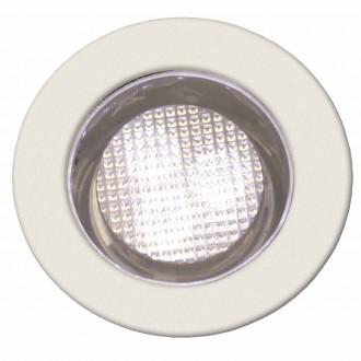 BRILLIANT G03093/75 | Cosa30 Brilliant ugradbena svjetiljka set od 10 komada Ø30mm 30x30mm 10x LED 10lm 2700K IP44 plemeniti čelik, čelik sivo, topla bijela