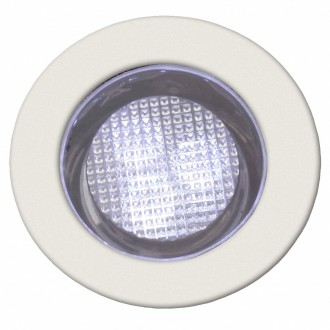 BRILLIANT G03093/82 | Cosa30 Brilliant ugradbena svjetiljka set od 10 komada Ø30mm 30x30mm 10x LED 10lm 7500K IP44 plemeniti čelik, čelik sivo, bijelo