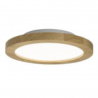BRILLIANT G20880/35   Smooth Brilliant stropne svjetiljke svjetiljka daljinski upravljač jačina svjetlosti se može podešavati 1x LED 1900lm 2700 <-> 6200K boja hrasta