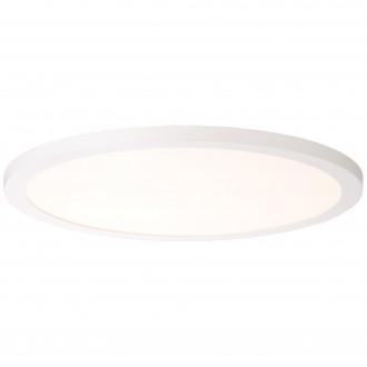 BRILLIANT G20882/05   Smooth Brilliant stropne svjetiljke svjetiljka daljinski upravljač jačina svjetlosti se može podešavati 1x LED 2800lm 2700 <-> 6200K bijelo