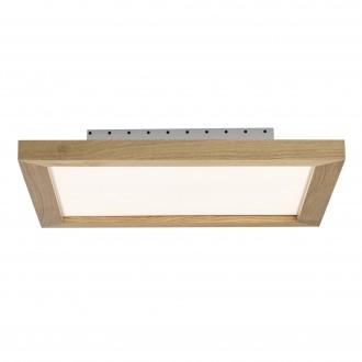 BRILLIANT G20885/35   Smooth Brilliant stropne svjetiljke svjetiljka daljinski upravljač jačina svjetlosti se može podešavati 1x LED 2500lm 2700 <-> 6200K boja hrasta