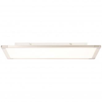 BRILLIANT G20889/04   Smooth Brilliant stropne svjetiljke svjetiljka 1x LED 2300lm 3000K srebrno, bijelo