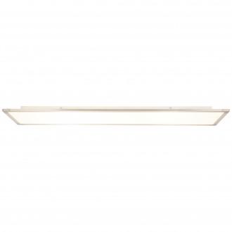 BRILLIANT G20890/04   Smooth Brilliant stropne svjetiljke svjetiljka 1x LED 4650lm 3000K srebrno, bijelo