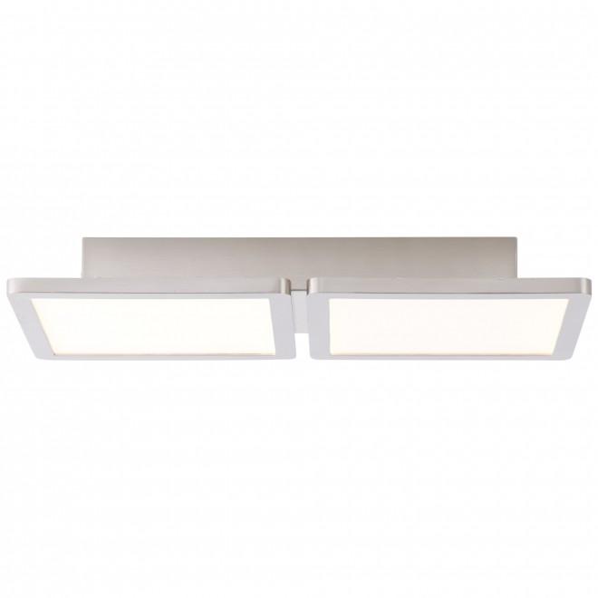 BRILLIANT G90117/13 | Scope-BRI Brilliant stropne svjetiljke svjetiljka 1x LED 1800lm 3000K poniklano mat, bijelo