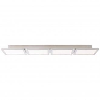 BRILLIANT G90118/13 | Scope-BRI Brilliant stropne svjetiljke svjetiljka 1x LED 3300lm 3000K poniklano mat, bijelo