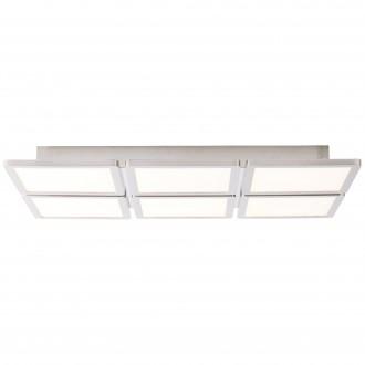 BRILLIANT G90119/13 | Scope-BRI Brilliant stropne svjetiljke svjetiljka 1x LED 3800lm 3000K poniklano mat, bijelo