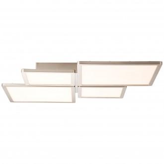 BRILLIANT G90179/68 | Scope-BRI Brilliant stropne svjetiljke svjetiljka daljinski upravljač jačina svjetlosti se može podešavati 1x LED 4400lm 2700 <-> 6200K nikel, bijelo