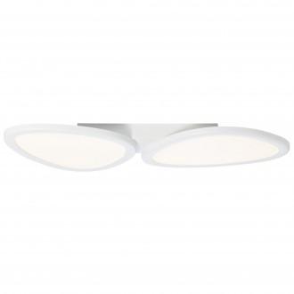 BRILLIANT G90284/05 | Stone-BRI Brilliant stropne svjetiljke svjetiljka daljinski upravljač jačina svjetlosti se može podešavati 1x LED 3700lm 2700 <-> 6200K bijelo