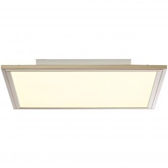 BRILLIANT G90313/68 | Flat-RGB Brilliant stropne svjetiljke svjetiljka daljinski upravljač jačina svjetlosti se može podešavati 1x LED 2500lm 2700 <-> 6200K nikel, bijelo