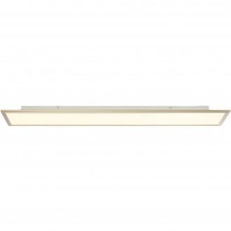 BRILLIANT G90315/68 | Flat-RGB Brilliant stropne svjetiljke svjetiljka daljinski upravljač jačina svjetlosti se može podešavati 1x LED 4500lm 2700 <-> 6200K nikel, bijelo