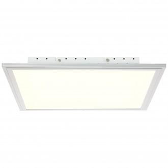 BRILLIANT G90326/21 | Flat-WiZ Brilliant stropne svjetiljke svjetiljka jačina svjetlosti se može podešavati 1x LED 2500lm 2700 <-> 6200K aluminij, bijelo