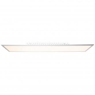 BRILLIANT G90328/21 | Flat-WiZ Brilliant stropne svjetiljke svjetiljka jačina svjetlosti se može podešavati 1x LED 3650lm 2700 <-> 6200K aluminij, bijelo