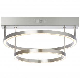 BRILLIANT G93448/68 | Tunar Brilliant stropne svjetiljke svjetiljka sa tiristorskim prekidačem 1x LED 2100lm 3000K satenski nikal