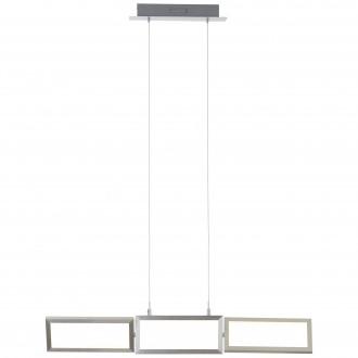 BRILLIANT G93450/21 | Tunar Brilliant visilice svjetiljka sa tiristorski dodirnim prekidačem elementi koji se mogu okretati 1x LED 2100lm 3000K aluminij