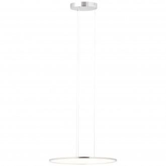 BRILLIANT G93694/13 | CeresB Brilliant visilice svjetiljka s mogućnošću skraćivanja kabla 1x LED 3000lm 3000K satenski nikal