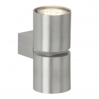 BRILLIANT G94444/21 | Izon Brilliant zidna svjetiljka 2x GU10 500lm 3000K aluminij