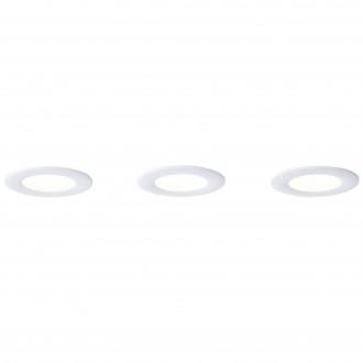 BRILLIANT G94693/05 | Tanel-WiZ Brilliant stropne svjetiljke svjetiljka jačina svjetlosti se može podešavati, promjenjive boje 3x LED 420lm 2700 <-> 6500K bijelo