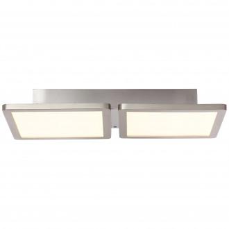 BRILLIANT G96801/68 | Scope-WiZ Brilliant stropne svjetiljke svjetiljka jačina svjetlosti se može podešavati 1x LED 1800lm 2700 <-> 6200K poniklano mat