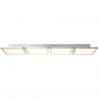 BRILLIANT G96802/68 | Scope-WiZ Brilliant stropne svjetiljke svjetiljka jačina svjetlosti se može podešavati 1x LED 3300lm 2700 <-> 6200K poniklano mat