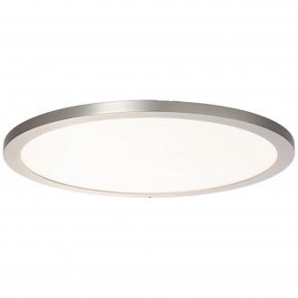 BRILLIANT G96806/68 | Smooth-WiZ Brilliant stropne svjetiljke svjetiljka jačina svjetlosti se može podešavati 1x LED 2800lm 2700 <-> 6200K poniklano mat