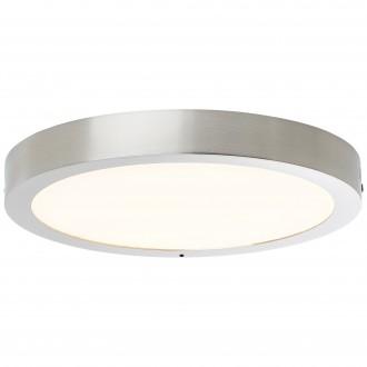 BRILLIANT G96810/68 | Katalina-WiZ Brilliant stropne svjetiljke svjetiljka jačina svjetlosti se može podešavati 1x LED 2160lm 2700 <-> 6500K poniklano mat