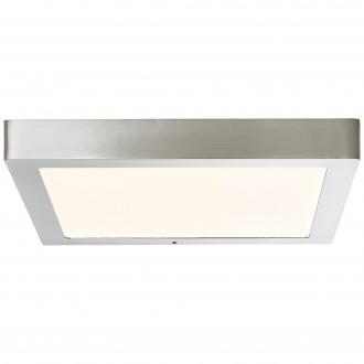 BRILLIANT G96811/68 | Jarno-WiZ Brilliant stropne svjetiljke svjetiljka jačina svjetlosti se može podešavati 1x LED 2200lm 2700 <-> 6500K poniklano mat