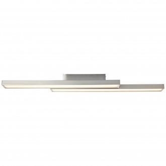 BRILLIANT G96814/68 | Sword-WiZ Brilliant stropne svjetiljke svjetiljka jačina svjetlosti se može podešavati, promjenjive boje 2x LED 1200lm 2700 <-> 6200K poniklano mat