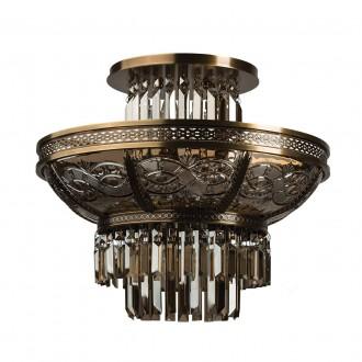 CHIARO 340011308 | Diana-MW Chiaro stropne svjetiljke svjetiljka 8x E14 5160lm mesing, bronca topaz