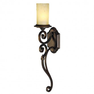 CHIARO 382021201 | Magdalena-MW Chiaro zidna svjetiljka 1x E27 645lm braon antik, krem