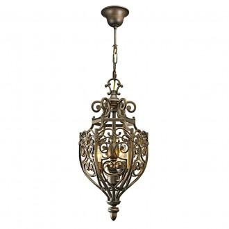 CHIARO 389010903 | Magdalena-MW Chiaro visilice svjetiljka 3x E14 1935lm antik zlato