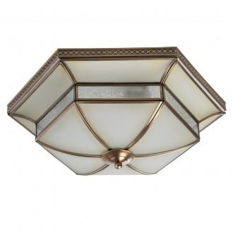 CHIARO 397010204 | Marquis Chiaro stropne svjetiljke svjetiljka 4x E27 1720lm mesing, prozirno