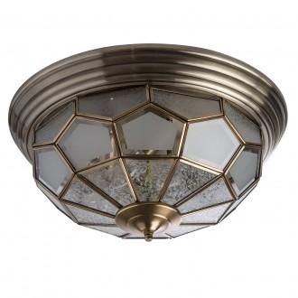 CHIARO 397010506 | Marquis Chiaro stropne svjetiljke svjetiljka 6x E14 2580lm mesing, prozirno