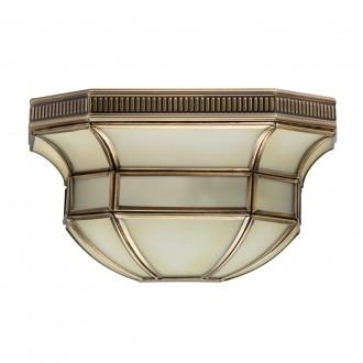 CHIARO 397020301 | Marquis Chiaro zidna svjetiljka 1x E27 430lm mesing, prozirno