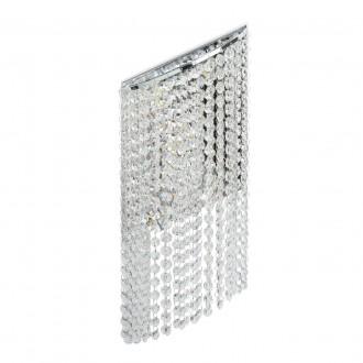 CHIARO 437022105 | Clarissa-MW Chiaro zidna svjetiljka 1x LED 1320lm 3200K krom, kristal