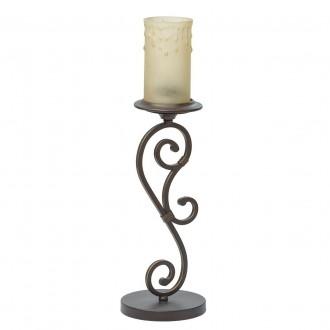 CHIARO 669030401 | Magdalena-MW Chiaro zidna svjetiljka 1x E27 645lm braon antik, krem