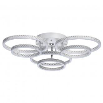 DE MARKT 496019006 | Aurich De Markt stropne svjetiljke svjetiljka daljinski upravljač jačina svjetlosti se može podešavati, sa podešavanjem temperature boje 1x LED 5600lm 3000 <-> 6000K bijelo mat