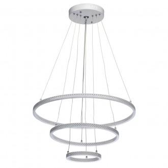 DE MARKT 496019103 | Aurich De Markt visilice svjetiljka daljinski upravljač jačina svjetlosti se može podešavati, sa podešavanjem temperature boje 1x LED 4800lm 3000 <-> 6000K bijelo mat