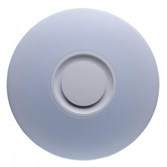 DE MARKT 660012201 | Norden De Markt stropne svjetiljke svjetiljka okrugli jačina svjetlosti se može podešavati, sa podešavanjem temperature boje, Bluetooth, noćno svjetlo 1x LED 4320lm 3000 <-> 6000K bijelo, opal