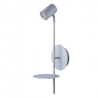 DE MARKT 661022401 | Plattling De Markt spot svjetiljka 1x GU10 400lm 4000K saten srebro