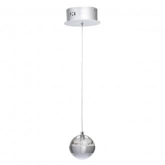 DE MARKT 730010101 | Coppelia De Markt visilice svjetiljka 1x LED 540lm 3000K aluminij, acidni, prozirno