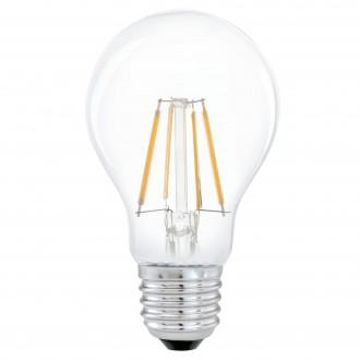 EGLO 11491 | E27 4W -> 31W Eglo obični A60 LED izvori svjetlosti filament 350lm 2700K 360° CRI>80