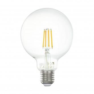 EGLO 11502 | E27 4W -> 33W Eglo velika kugla G95 LED izvori svjetlosti filament 350lm 2700K 360° CRI>80