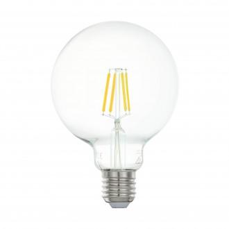 EGLO 11503 | E27 5W -> 48W Eglo velika kugla G95 LED izvori svjetlosti filament 600lm 2700K 360° CRI>80